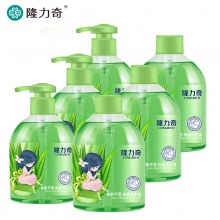 隆力奇蛇胆芦荟抑菌清洁洗手液家庭套装500ml*6(瓶+瓶补)