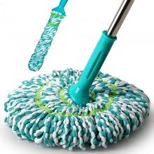 利临  旋转自拧水拖把免手洗干湿两用老式拖把家用懒人拖布墩布