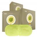 闪亮 茶语热敷蒸汽眼罩10片/盒 睡眠遮光护眼黑眼圈 学生课间成人差旅