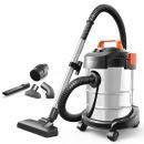 亿力 YILI 吸尘器家用车用吸尘干湿吹三用桶式吸尘器 车载吸尘器 YLW6263A-12L 汽车用品