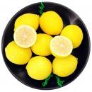 四川安岳黄柠檬8颗 一级大果 单果约100-120g 新鲜水果