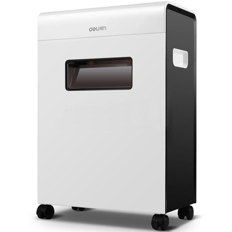 得力(deli)9903 平板系列碎纸机(镜面机身超强碎纸能力 可碎光盘 S3级保密)