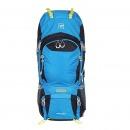 探路者(TOREAD) 登山包 户外男女通款60升双肩背包 徒步旅行背包 ZEBF80509 湖蓝