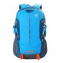 探路者(TOREAD) 登山包 户外男女通款30升双肩背包 徒步旅行背包 ZEBF80609 湖蓝/铁矿蓝