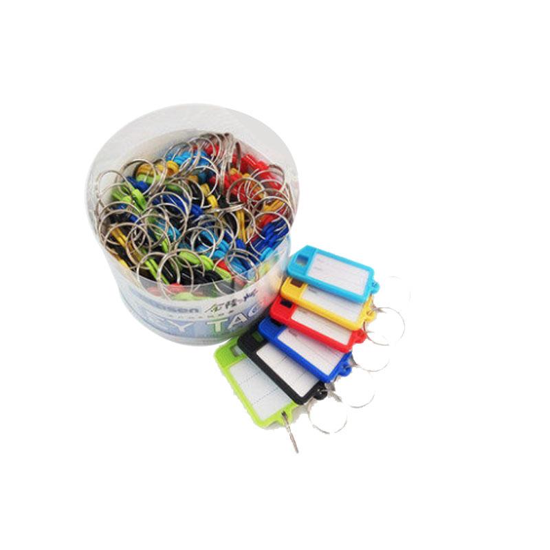 金隆兴 钥匙柜 B8109 彩色钥匙扣 50个/盒 中介钥匙箱 壁挂式 房产钥匙管理箱 汽