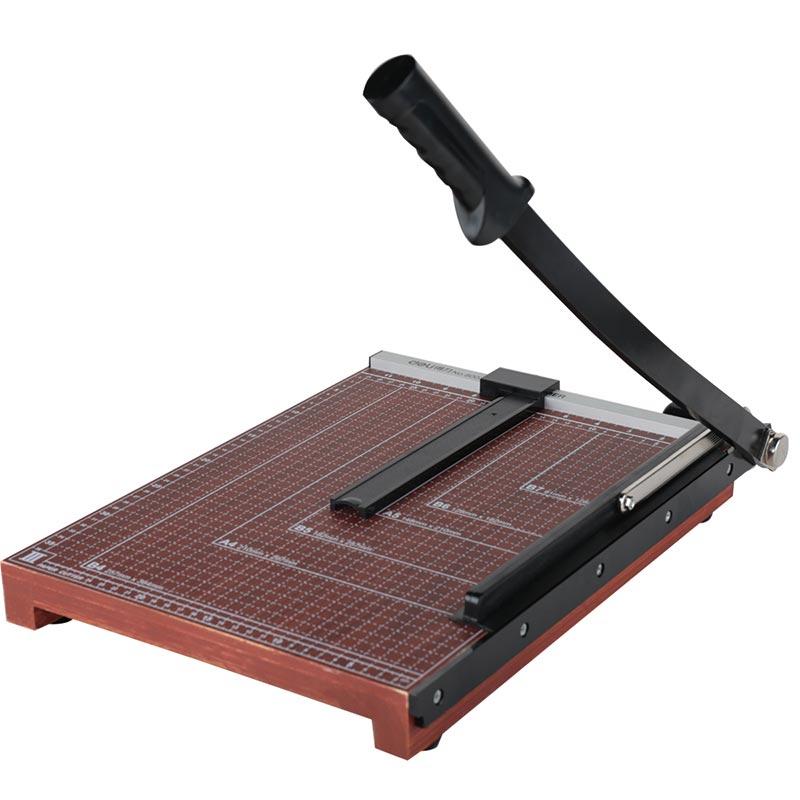 得力(deli) 8003 木质切纸刀裁纸刀切纸机铡刀 裁纸机 可切B4纸