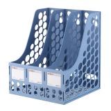晨光(M&G)ADM94739 耐用三联文件框 蓝色