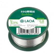 老A(LAOA)55g 免清洗焊锡丝 0.8mm LA812608
