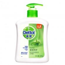 滴露(dettol) 健康抑菌洗手液绿色 植物呵护 450ml/瓶