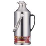 稻草人 2399 不锈钢保温壶热水瓶暖壶玻璃内胆大容量学生宿舍用暖瓶8磅 3.2L 鸭嘴