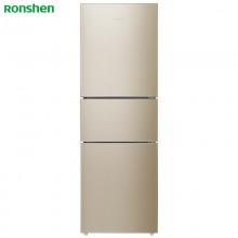 容声(Ronshen) 252升 三门小型电冰箱 变频风冷无霜 电脑中控 静音节能 宽幅变温 BCD-252WD11NPA