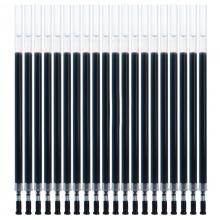 得力(deli)S760 子弹头中性笔笔芯 0.5mm 黑色 20支/盒