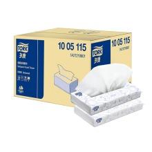 维达多康(Vinda)1005115抽纸  酒店客房用抽纸 商用面巾纸 L码大号双层1*80抽 100包/箱