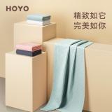 日本HOYO和颜浴巾礼盒装 成人男女家用纯棉浴巾 加大加厚吸水速干不掉毛大毛巾可穿裹巾 千草