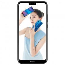 华为 HUAWEI nova 3e 全面屏2400万前置摄像 4GB +64GB 幻夜黑 全网通版移动联通电信4G手机 双卡双待