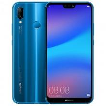 华为 HUAWEI nova 3e 全面屏2400万前置摄像 4GB +64GB 克莱因蓝 全网通版移动联通电信4G手机 双卡双待