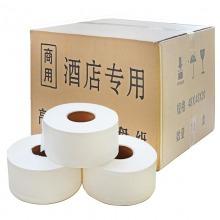 纸源 双层大卷纸 大盘纸 商务卫生纸700g 12卷/箱