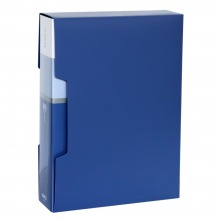 得力(deli) 5006 经济型A4-80页资料册 蓝色