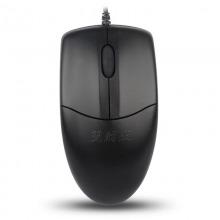 双飞燕(A4Tech)OP-520NU 针光有线鼠标 USB接口 黑色
