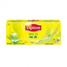 立顿(lipton)清香型绿茶 2g*25包/盒