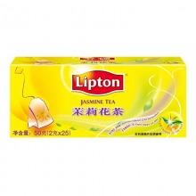 立顿(lipton)清新茉莉花茶 2g*25包/盒