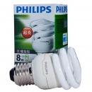 飛利浦(PHILIPS)8W/E27全螺旋節能燈...