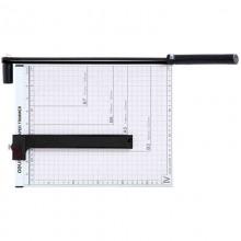 得力(Deli)8014-A4钢质切纸机/切纸刀/裁纸刀/裁纸机 300*250mm