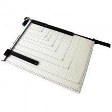 得力(Deli)8011-B3钢质切纸机/切纸刀/裁纸刀/裁纸机 530x410mm