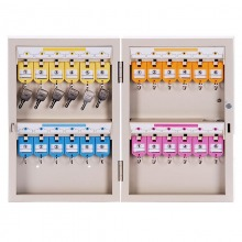 得力(deli) 9321-24位 安全实用钥匙管理箱两排