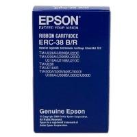 爱普生(EPSON)ERC-38B/R 黑/红双色色带架(包含芯)(适用于EPSON ER