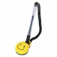 得力(deli) 6793 微笑台笔/台式中性笔 0.5mm 黑色 单支装