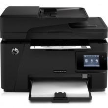 惠普(HP) LaserJet Pro MFP M128fw 多功能一体打印机(打印 复印
