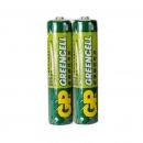 超霸(GP)GP24G  超值耐用型 7号无汞碳性电池 两粒/卡