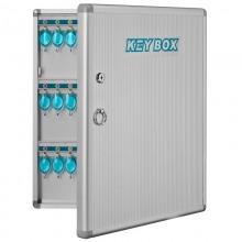 金隆兴(Glosen)B1072 传统收纳铝合金钥匙箱 72位