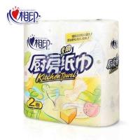 心相印KT102 吸油锁水厨房用卷纸巾 2卷/提