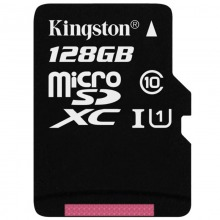 金士顿(Kingston)128GB Class10-80Mb/s TF(Micro SD
