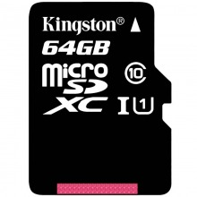 金士顿(Kingston)64GB 80MB/s TF(Micro SD) Class10