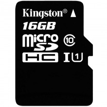 金士顿(Kingston)16GB Class10-80MB/S TF(Micro SD)