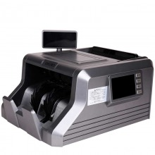 得力(deli)3906A 双屏幕全智能语音点钞机 银行专用C类 灰色