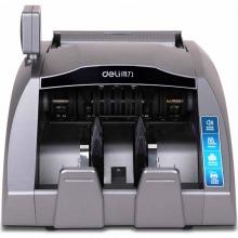 得力(deli)3910A 双屏国标B类点验钞机 全新升级 灰色