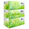 心相印H200 茶语系列盒装面巾纸200抽 3盒/提