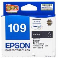 爱普生(EPSON)T1091 黑色墨盒 C13T109180(适用ME30/300/360/510/600F/650FN/700FW)