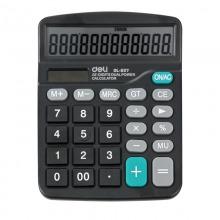 得力(deli)DL-837 轻便经济款通用型桌面计算器 12位