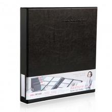得力(deli)5797 活页名片册(容量480张) 黑色