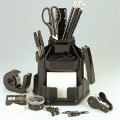 釗盛ZS-900S旋轉式文具盒筆筒多功能筆筒