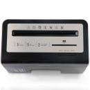 得力(deli)9936 多功能商务桌面碎纸机 静音/3级保密/可碎卡