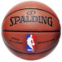 斯伯?。⊿PALDING)74-602Y 篮球室内室外PU篮球掌控比赛用球(彩色运球人)