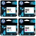 惠普(HP)CB316ZZ 862号四色墨盒套装...