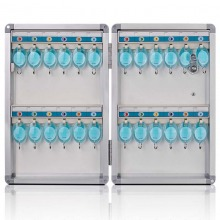 金隆兴(Glosen) B1024 铝合金 钥匙管理箱/钥匙盒/钥匙柜壁挂/含钥匙牌 24