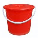 顺兴(SX)23公分 塑料水桶 红色(顶部直径23cm 高:20cm)